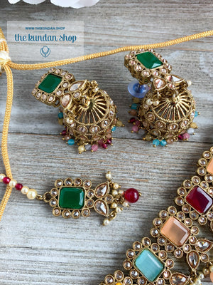 Valiant in Pastels Necklace Sets THE KUNDAN SHOP