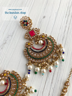 Endearing Polki in Multi THE KUNDAN SHOP