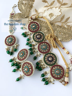 Spirited in Multi Necklace Sets THE KUNDAN SHOP