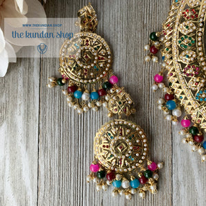Sangeet Night - Multi, Necklace Sets - THE KUNDAN SHOP