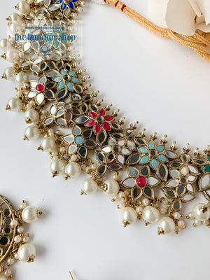 Faith in Multi Necklace Sets THE KUNDAN SHOP