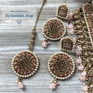 Cloud Nine - Light Pink, Necklace Sets - THE KUNDAN SHOP
