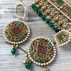 Cloud Nine - Multi Colour, Necklace Sets - THE KUNDAN SHOP