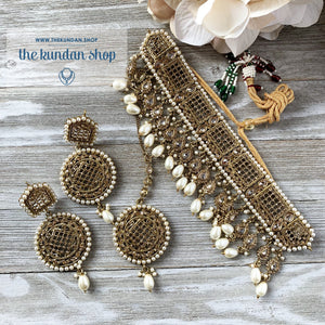 Cloud Nine - Pearl, Necklace Sets - THE KUNDAN SHOP