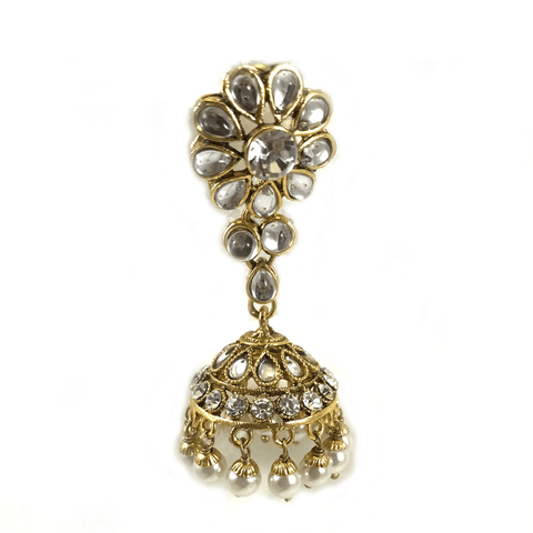 Flowers and Kundan, Necklace Sets - THE KUNDAN SHOP