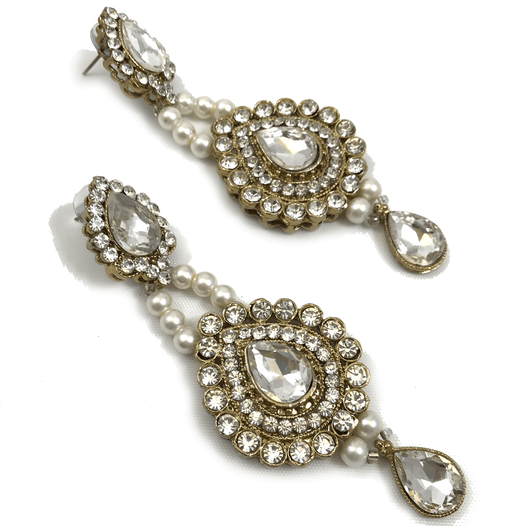 Glam Necklace Set, Necklace Sets - THE KUNDAN SHOP