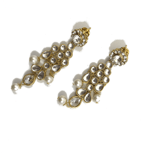 Stones & Pearls Choker, Necklace Sets - THE KUNDAN SHOP