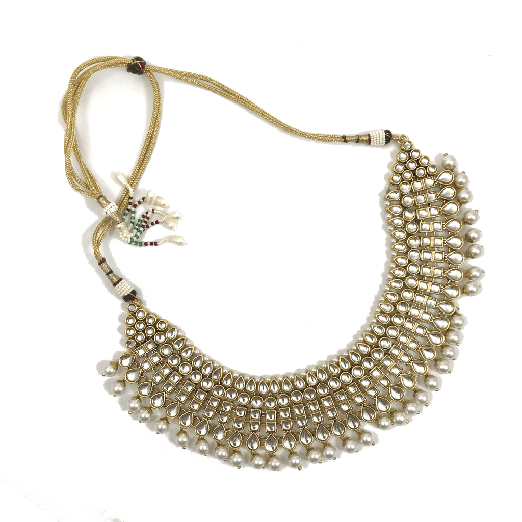 Adorned in Kundan, Necklace Sets - THE KUNDAN SHOP