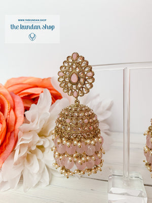 Kindly Jhumkis Earrings THE KUNDAN SHOP