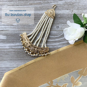 Oversize Traditional Jadau Passa, Passa - THE KUNDAN SHOP