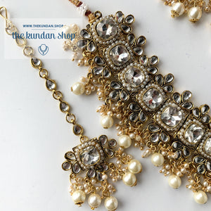 Detailed - Pearl, Necklace Sets - THE KUNDAN SHOP