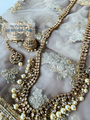 Hidden Secrets - Pearl Necklace Sets THE KUNDAN SHOP