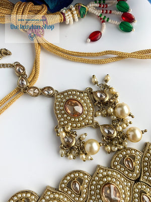Entangled in Pearl Necklace Sets THE KUNDAN SHOP