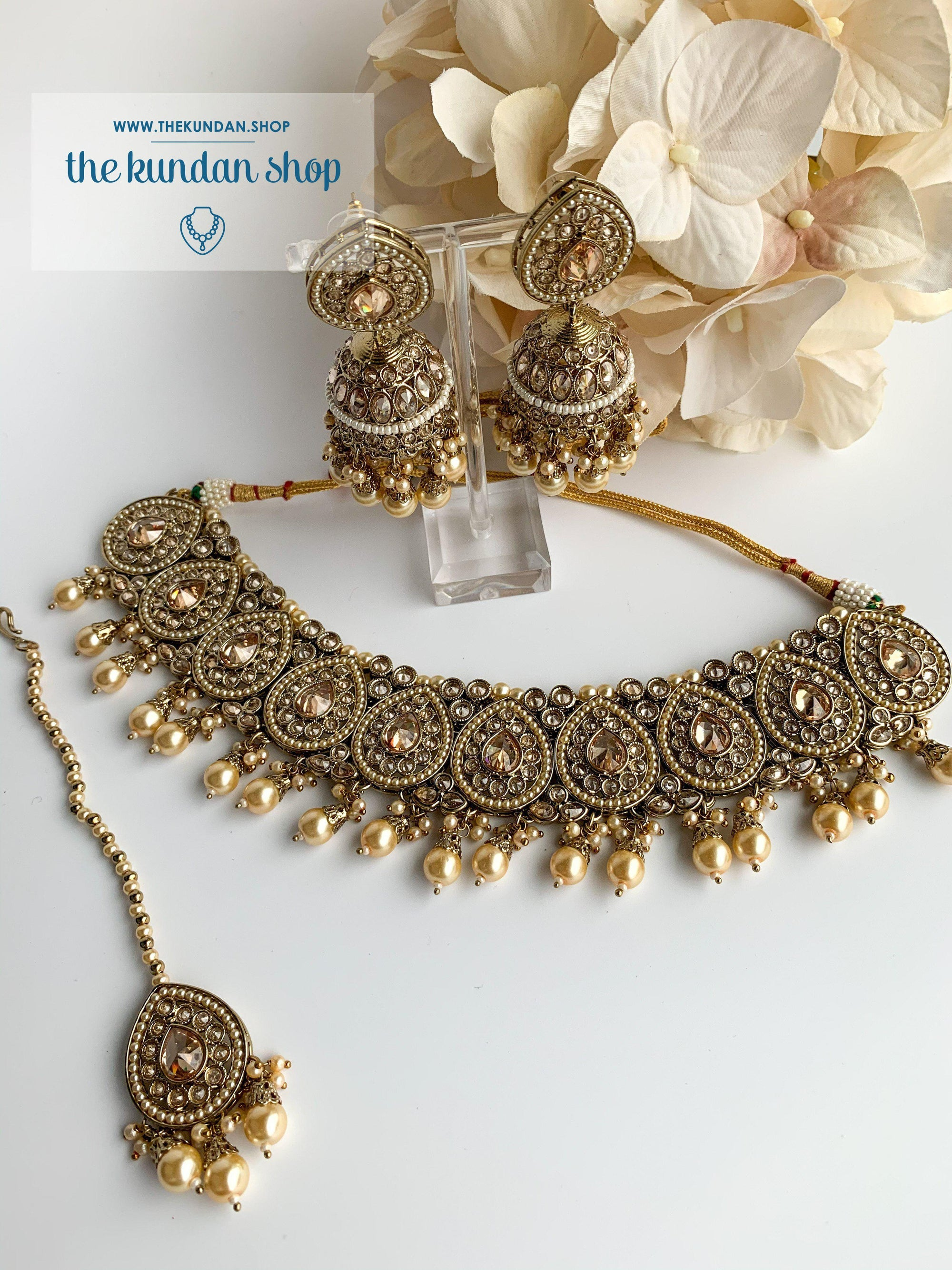 Ideal in Pearl Necklace Sets THE KUNDAN SHOP