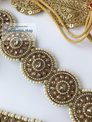 Spirited in Pearl Necklace Sets THE KUNDAN SHOP