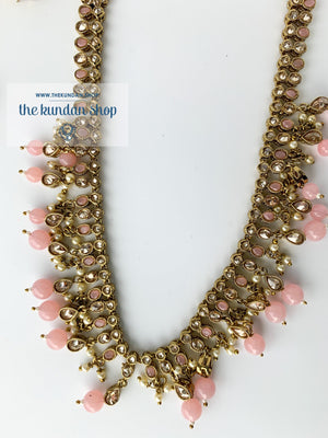Hidden Secrets - Pink, Necklace Sets - THE KUNDAN SHOP
