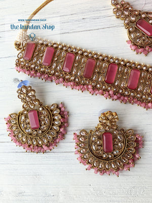 Poised in Pink Necklace Sets THE KUNDAN SHOP
