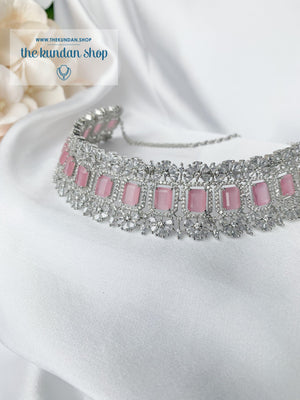Exposed in Pink Necklace Sets THE KUNDAN SHOP