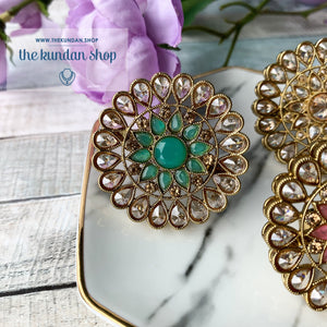 Soulful Ring - Various Colors, Ring - THE KUNDAN SHOP