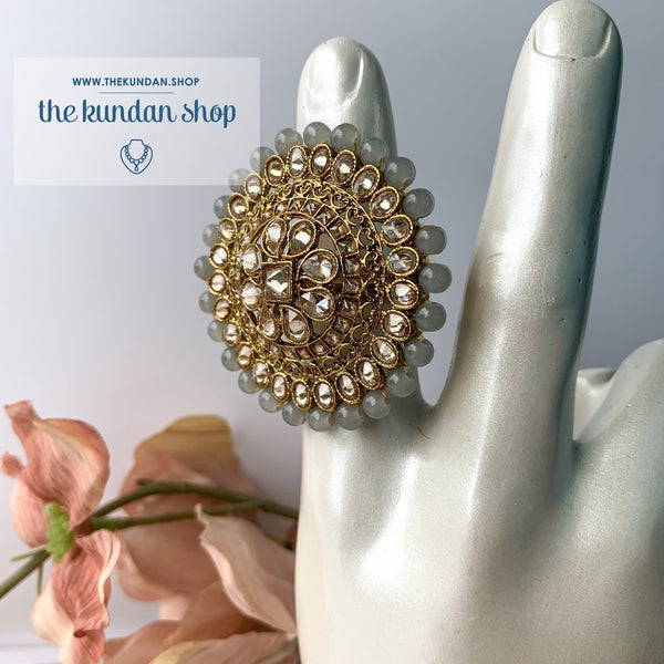 Cocktail Hour - Oversize Ring Ring THE KUNDAN SHOP