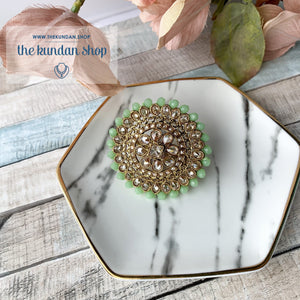 Cocktail Hour - Oversize Ring, Ring - THE KUNDAN SHOP