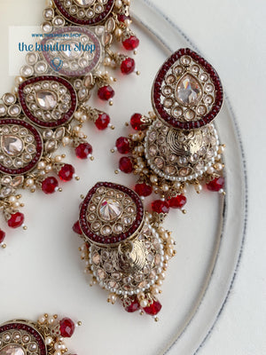 Ideal in Ruby 2.0 Necklace Sets THE KUNDAN SHOP