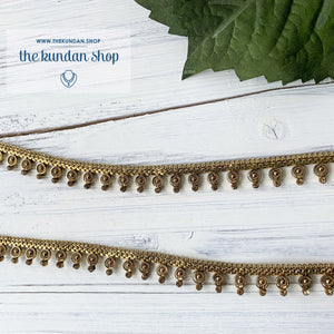 Simply Bronze, Anklets - THE KUNDAN SHOP