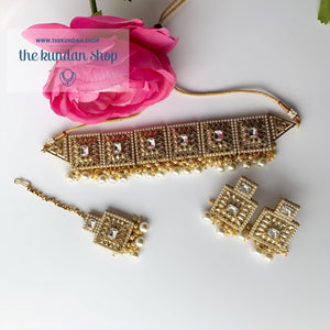 Right Angles in Pearl Necklace Sets THE KUNDAN SHOP