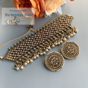 Champagne Statements, Necklace Sets - THE KUNDAN SHOP