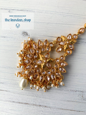 Simple Features Tikka, Maangtikka - THE KUNDAN SHOP
