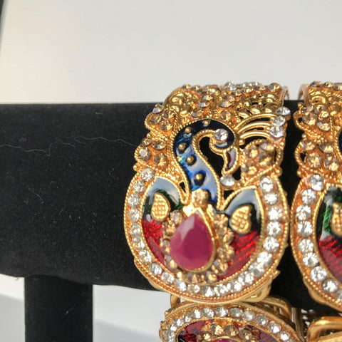 Moorni Wrists, Bangles - THE KUNDAN SHOP