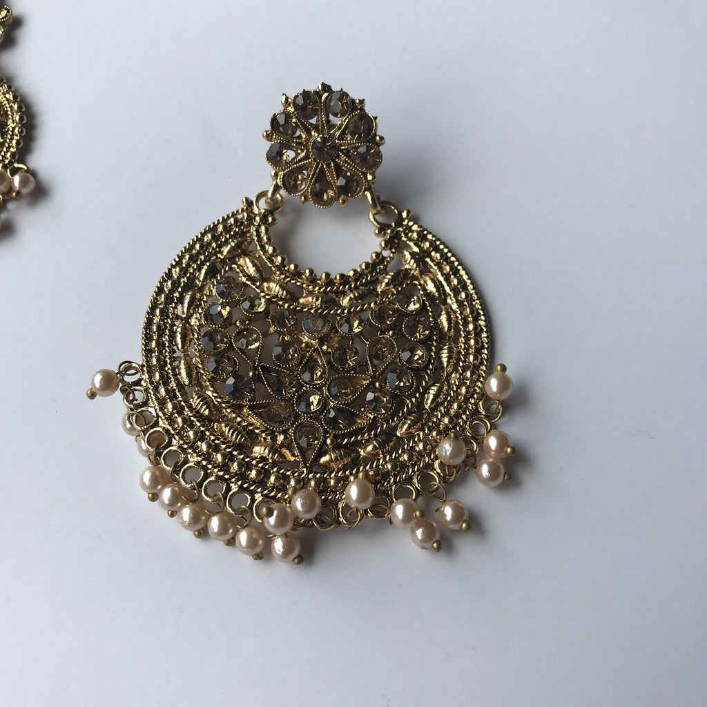 Brownie Points, Earrings + Tikka - THE KUNDAN SHOP