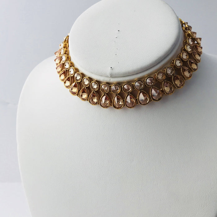 Playing with Polki, Necklace Sets - THE KUNDAN SHOP