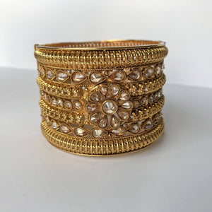 A Single Floral, Bangles - THE KUNDAN SHOP