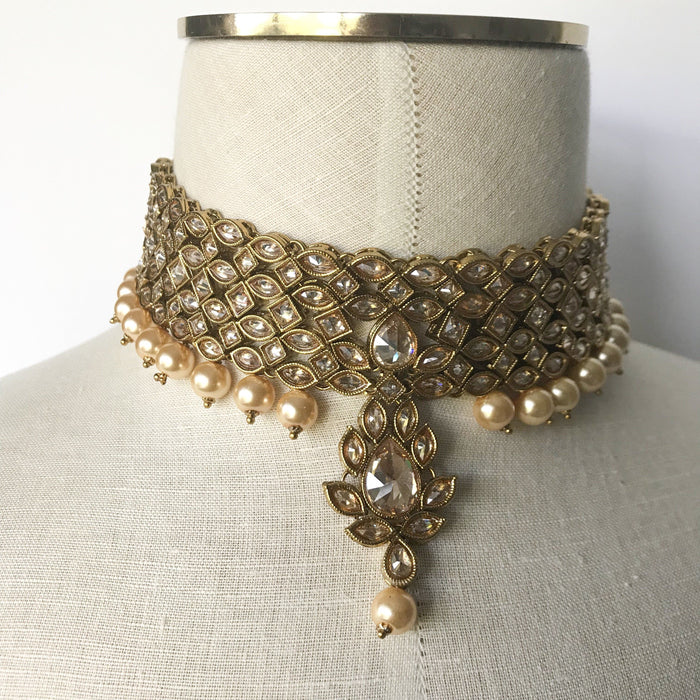 Hidden Stones, Necklace Sets - THE KUNDAN SHOP