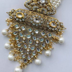 Pearl Necklace & Earrings, Necklace Sets - THE KUNDAN SHOP