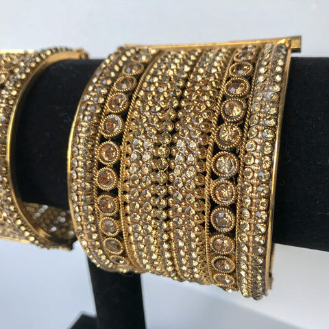 Candid Pair, Bangles - THE KUNDAN SHOP