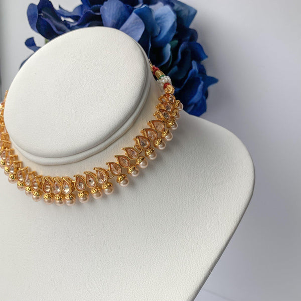 Simply Polki, Necklace Sets - THE KUNDAN SHOP