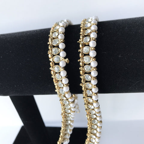 Single Stone Anklets, Anklets - THE KUNDAN SHOP