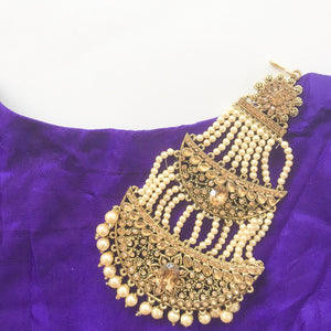 Champagne Statement Passa, Passa - THE KUNDAN SHOP