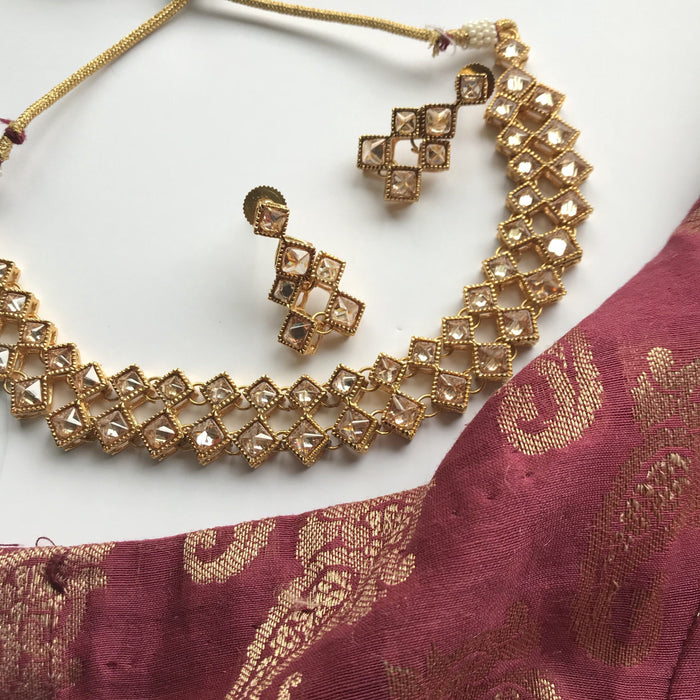 The Simple Life, Necklace Sets - THE KUNDAN SHOP