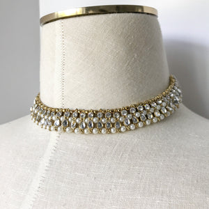 Silver Stone, Necklace Sets - THE KUNDAN SHOP