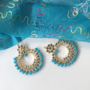 Take it Easy (Various Colours), Earrings + Tikka - THE KUNDAN SHOP