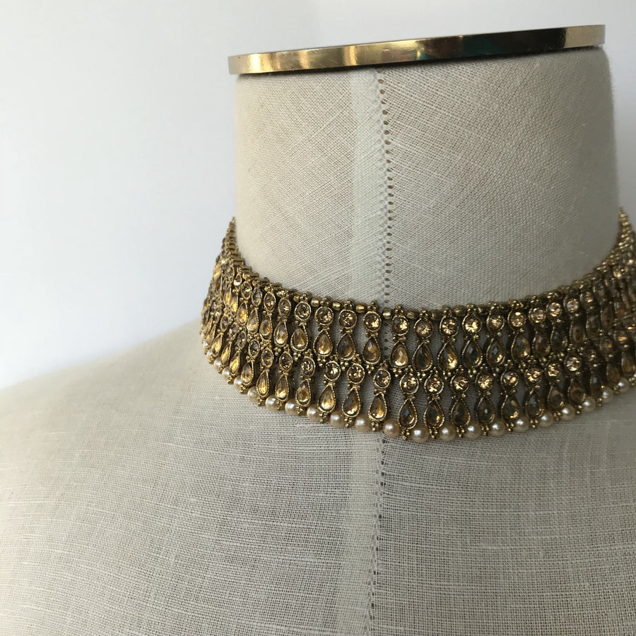 No Shade, Necklace Sets - THE KUNDAN SHOP