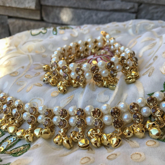 Make Some Noise, Anklets - THE KUNDAN SHOP