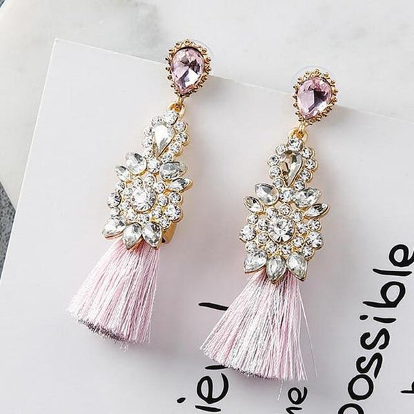 The Baby Tassel - Pink & Blue