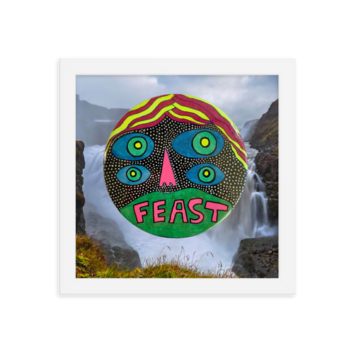 FEAST / Art Print (framed) / Limited Edition