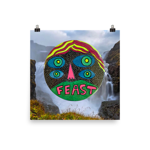 FEAST / Art Print / Limited Edition