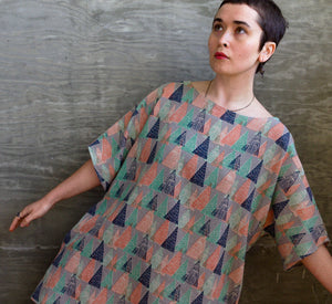 Trigonometry / Juniper Dress (w/ pockets) / one-of-a-kind