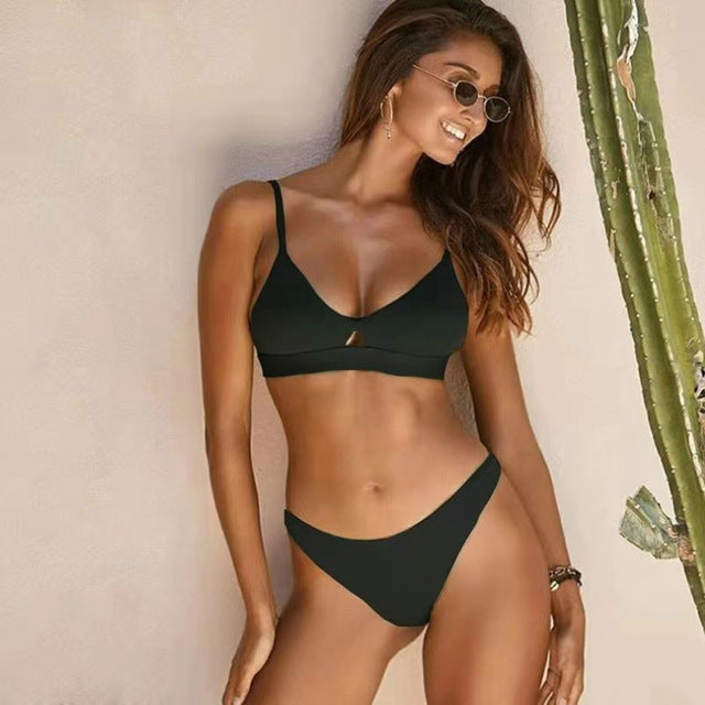 VERONIKA Low Waist Thong Bikini